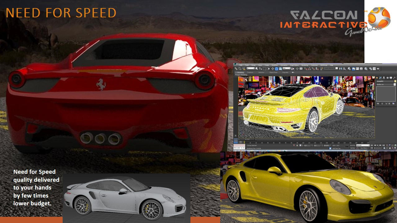 Drag'n'Drift – racing game for iOS and Android | Falcon